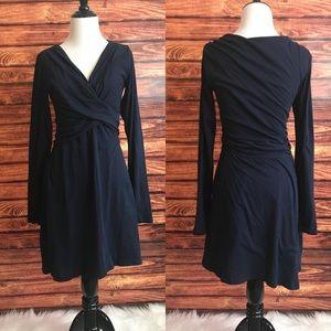 Velvet graham & Spencer wrap front jersey dress